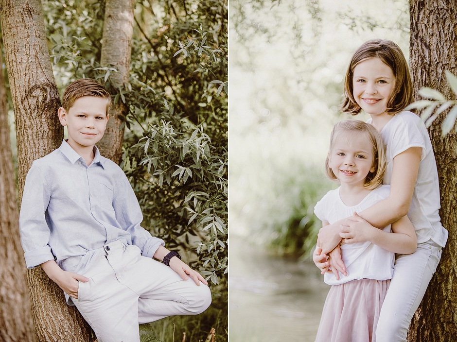Kinderportraits, Kinderfotografie, Rauenberg, Portraits am Wasser